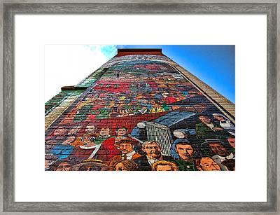 Painted History 3 Framed Print by Joann Vitali