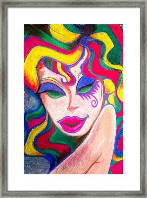 Painted Lady 3 Framed Print