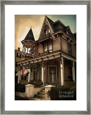 Painted Lady No. 209 Framed Print