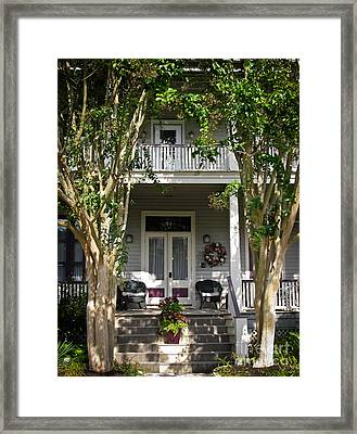 Painted Lady No. 41 Framed Print by Colleen Kammerer