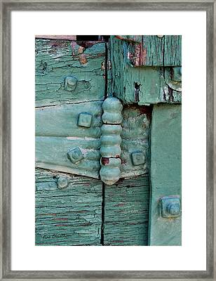 Painted Metal And Wood Framed Print by Kae Cheatham