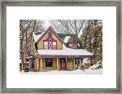 Painted Minnesotan Framed Print by Paul Freidlund