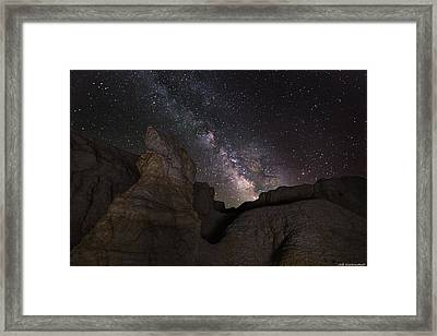 Painted Night Framed Print
