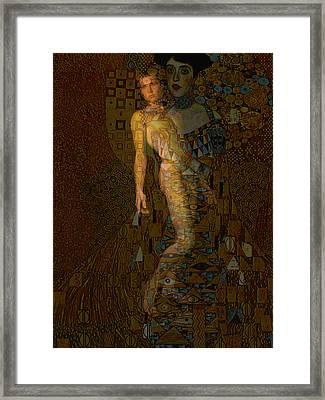 Painted Poet Framed Print