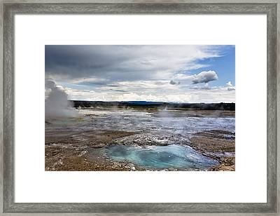 Framed Print featuring the photograph Paint Pots by Belinda Greb