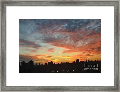 Painted Skies II Framed Print