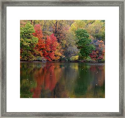 Framed Print featuring the photograph Painted Water by Richard Bryce and Family