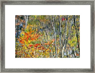 Painted Watercolor Photo Framed Print by Frozen in Time Fine Art Photography