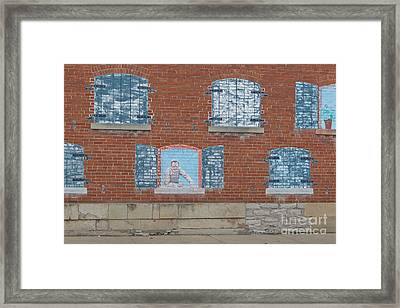 Painted Windows Framed Print by Kay Pickens