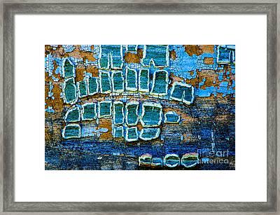 Painted Windows Number 1 Framed Print