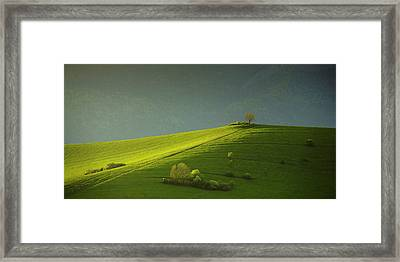 Painted With Light . . Framed Print