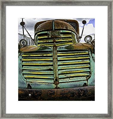 Painted With Rust Framed Print