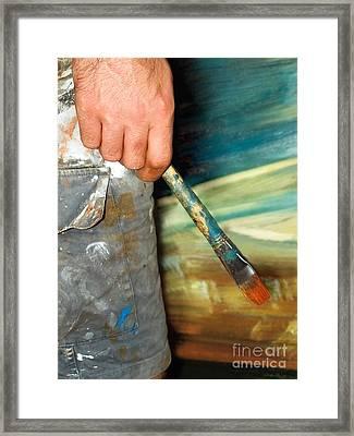 Painter Framed Print