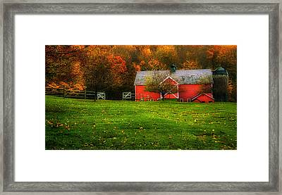 Autumn Dreams - Dorset Vermont Framed Print