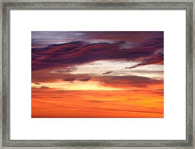 Framed Print featuring the photograph Painterly Sunrise On The Blue Ridge Parkway by Photography  By Sai