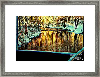 Painter's Box Framed Print by Tami Quigley