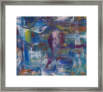 Painters Palette Framed Print