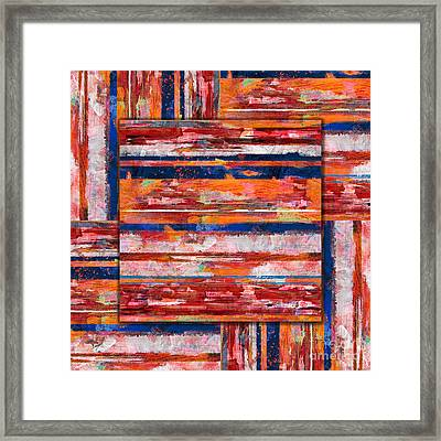 Painting Experiment Framed Print by Bedros Awak