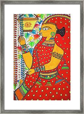 Painting, Kochi, Kerala, India Framed Print