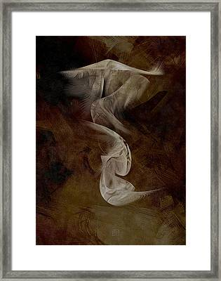 Painting The Abstract Framed Print