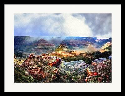 Hopi Mixed Media Framed Prints