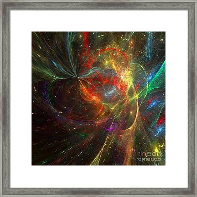 Painting The Heavens  Framed Print
