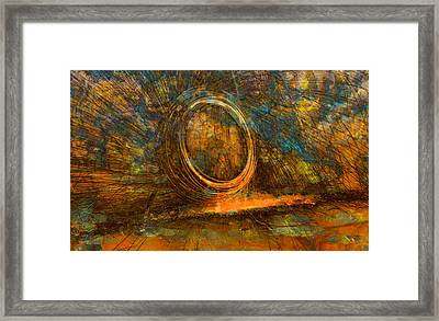 Painting With Fury Framed Print by Dan Sproul