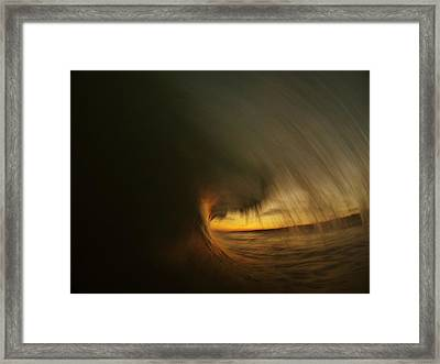 Painting With Light Framed Print by Daniel Rainey