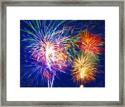 Painting With Light Framed Print