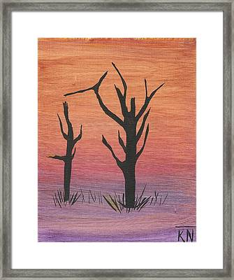 Painting4 Framed Print by Keith Nichols