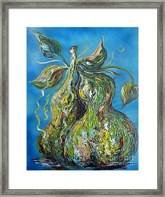 Pair Of Pears Framed Print by Eloise Schneider