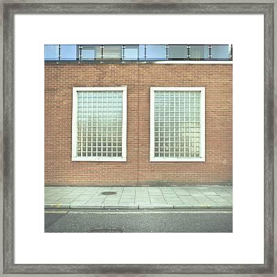 Pair Of Windows Framed Print