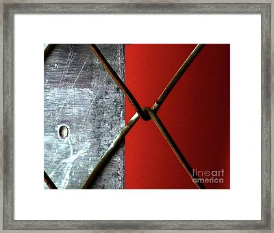 Framed Print featuring the photograph Paired by Newel Hunter