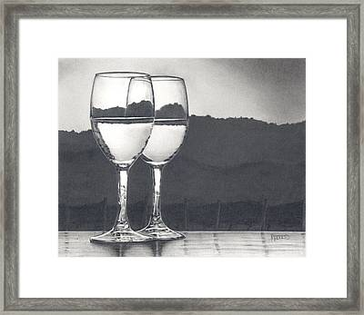Pairing Framed Print by Mark Treick