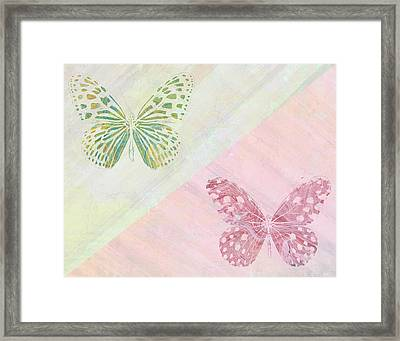 Pairs Of Wings Framed Print by Aged Pixel
