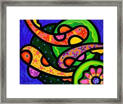 Paisley Pond - Horizontal Framed Print