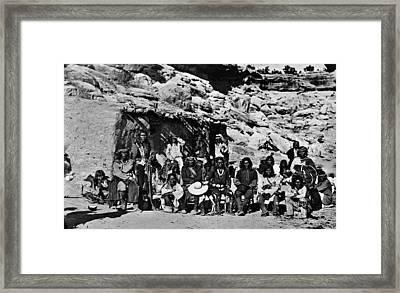 Paiute Native Americans Framed Print
