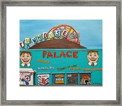Palace Amusements II Framed Print