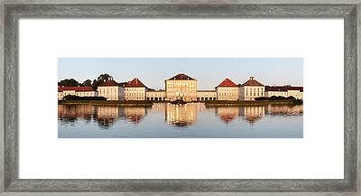 Palace At The Waterfront, Nymphenburg Framed Print by Panoramic Images