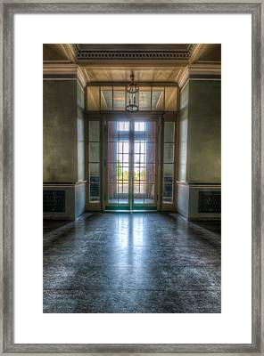 Palace Entrance  Framed Print by Nathan Wright