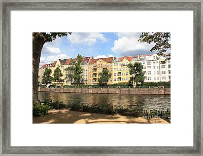 Palace Garden View Framed Print by Carol Groenen