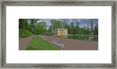 Palace Grounds, Catherine Palace Framed Print