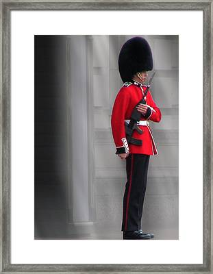 Palace Guard Framed Print by William Howard