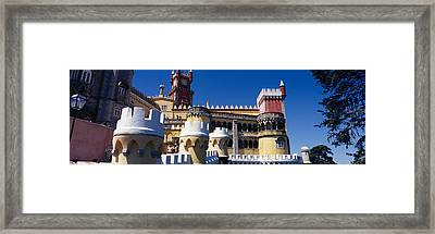 Palace In A City, Palacio Nacional Da Framed Print