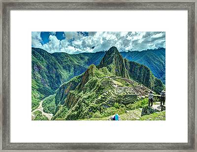 Palace In The Sky Framed Print