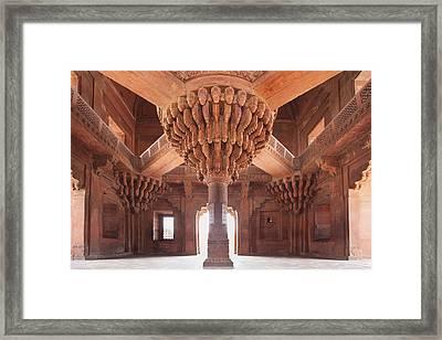 Palace Interior Framed Print by Bryan Mullennix