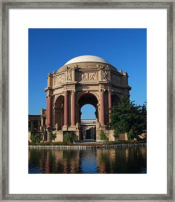 Palace Of Fine Arts Color Framed Print