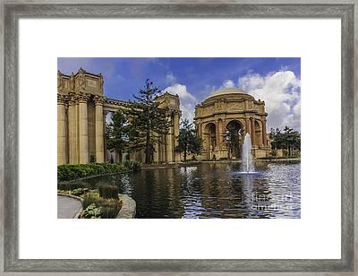 Palace Of Fine Arts San Francisco Framed Print