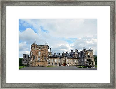 Palace Of Holyroodhouse Framed Print
