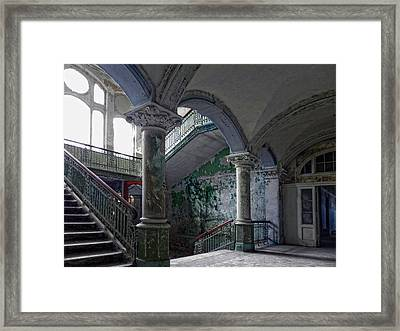 Palace Of The Forgotten Tears Framed Print by Joachim G Pinkawa